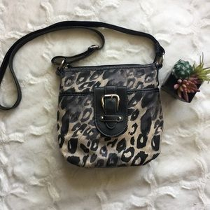 Croft & Barrow Leopard Print Cross Body